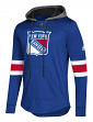 "New York Rangers Adidas NHL Men's ""Blue Line"" Premium Hooded Sweatshirt"