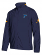 "St. Louis Blues Adidas NHL Men's ""Penalty Box"" Full Zip Rink Jacket"