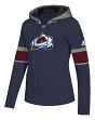 "Colorado Avalanche Women's NHL Adidas ""Offsides"" Premium Hooded Sweatshirt"