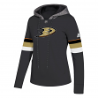 "Anaheim Ducks Women's NHL Adidas ""Offsides"" Premium Hooded Sweatshirt"