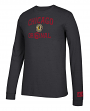 "Chicago Blackhawks NHL Adidas ""True Original"" Long Sleeve Tri-Blend T-Shirt"
