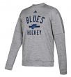 "St. Louis Blues Adidas NHL Men's ""Archer"" Crewneck Fleece Sweatshirt"