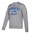 "New York Rangers Adidas NHL Men's ""Archer"" Crewneck Fleece Sweatshirt"