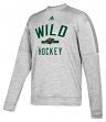 "Minnesota Wild Adidas NHL Men's ""Archer"" Crewneck Fleece Sweatshirt"