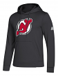 "New Jersey Devils Adidas NHL Men's ""Goalie"" Pullover Hooded Sweatshirt"