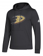 "Anaheim Ducks Adidas NHL Men's ""Goalie"" Pullover Hooded Sweatshirt"