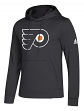 "Philadelphia Flyers Adidas NHL Men's ""Goalie"" Pullover Hooded Sweatshirt"