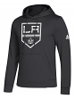 "Los Angeles Kings Adidas NHL Men's ""Goalie"" Pullover Hooded Sweatshirt"