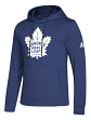 "Toronto Maple Leafs Adidas NHL Men's ""Goalie"" Pullover Hooded Sweatshirt"