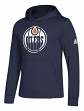 "Edmonton Oilers Adidas NHL Men's ""Goalie"" Pullover Hooded Sweatshirt"