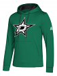 "Dallas Stars Adidas NHL Men's ""Goalie"" Pullover Hooded Sweatshirt"
