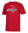 Washington Capitals Adidas NHL Primary Logo Men's Red Short Sleeve T-Shirt