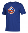 New York Islanders Adidas NHL Primary Logo Men's Blue Short Sleeve T-Shirt