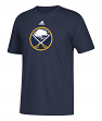 Buffalo Sabres Adidas NHL Primary Logo Men's Navy Short Sleeve T-Shirt