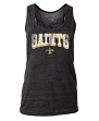 "New Orleans Saints Women's New Era NFL ""Downfield"" Racerback Tank Top Shirt"