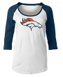 "Denver Broncos Women's New Era NFL ""Score"" 3/4 Sleeve Scoop Neck Shirt"
