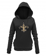 "New Orleans Saints Women's New Era NFL ""Post Route"" Pullover Hooded Sweatshirt"