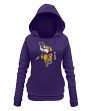 "Minnesota Vikings Women's New Era NFL ""Post Route"" Pullover Hooded Sweatshirt"