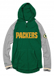 "Green Bay Packers Mitchell & Ness NFL Men's ""Slugfest"" Lightweight Hooded Shirt"