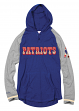 New England Patriots Mitchell & Ness NFL Men's Slugfest Lightweight Hooded Shirt