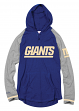 "New York Giants Mitchell & Ness NFL Men's ""Slugfest"" Lightweight Hooded Shirt"