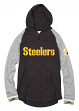 Pittsburgh Steelers Mitchell & Ness NFL Men's Slugfest Lightweight Hooded Shirt