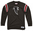 "Atlanta Falcons Mitchell & Ness NFL Men's ""Team Captain"" Long Sleeve Shirt"