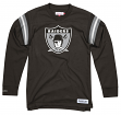 "Oakland Raiders Mitchell & Ness NFL Men's ""Team Captain"" Long Sleeve Shirt"