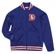 "Denver Broncos Mitchell & Ness NFL Men's ""Top Prospect"" Full Zip Track Jacket"