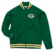 "Green Bay Packers Mitchell & Ness NFL Men's ""Top Prospect"" Full Zip Track Jacket"