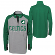 "Boston Celtics Youth NBA ""Shooter"" Performance 1/4 Zip Long Sleeve Shirt"