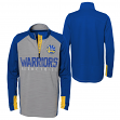 "Golden State Warriors Youth NBA ""Shooter"" Performance 1/4 Zip Long Sleeve Shirt"