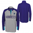 "Charlotte Hornets Youth NBA ""Shooter"" Performance 1/4 Zip Long Sleeve Shirt"