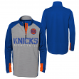 "New York Knicks Youth NBA ""Shooter"" Performance 1/4 Zip Long Sleeve Shirt"