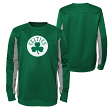 "Boston Celtics Youth NBA ""Lay-Up"" Pullover Crew Fleece Sweatshirt"