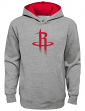 "Houston Rockets Youth NBA ""Prime Time"" Pullover Hooded Sweatshirt - Gray"