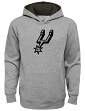 "San Antonio Spurs Youth NBA ""Prime Time"" Pullover Hooded Sweatshirt - Gray"