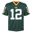 Aaron Rodgers Green Bay Packers Youth NFL Mid Tier Replica Jersey