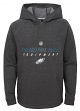 "Philadelphia Eagles Youth NFL ""Equipment"" Pullover Hooded Charcoal Sweatshirt"