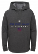 "New York Giants Youth NFL ""Equipment"" Pullover Hooded Charcoal Sweatshirt"