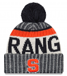 "Syracuse Orange New Era NCAA ""NE17 Sport Knit"" Hat with Pom"