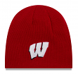 "Wisconsin Badgers New Era NCAA ""Basic Team Beanie 2"" Reversible Knit Hat"