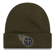 """Tennessee Titans New Era 2018 NFL Sideline """"Salute to Service"""" Knit Hat"""