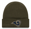 """Los Angeles Rams New Era 2018 NFL Sideline """"Salute to Service"""" Knit Hat"""