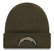 """Los Angeles Chargers New Era 2018 NFL Sideline """"Salute to Service"""" Knit Hat"""
