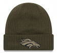 "Denver Broncos New Era 2018 NFL Sideline ""Salute to Service"" Knit Hat"
