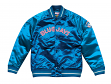 "Toronto Blue Jays Mitchell & Ness MLB ""Tough Season"" Premium Satin Jacket"