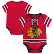 "Chicago Blackhawks NHL ""Cherry Picking"" Infant Bodysuit Creeper Set"