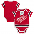 "Detroit Red Wings NHL ""Cherry Picking"" Infant Bodysuit Creeper Set"