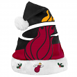 Miami Heat 2018 NBA Basic Logo Plush Christmas Santa Hat